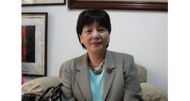 先月23日に着任した関口首席領事