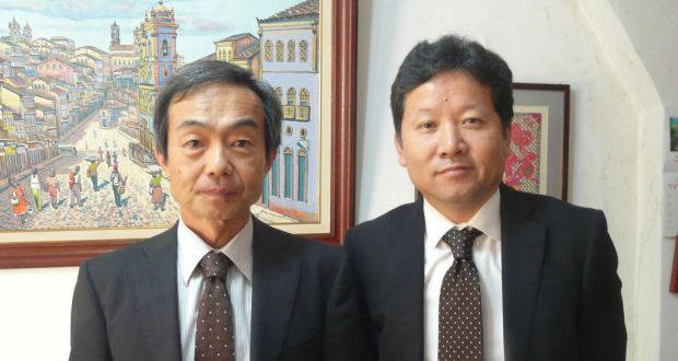 石田氏と新任の大久保氏