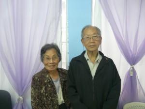玉井須美子副会長、五十嵐会長