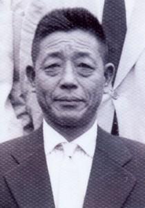 谷田才次郎(写真=松本信代さん提供)