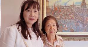 山田ネウザさんと母房子さん