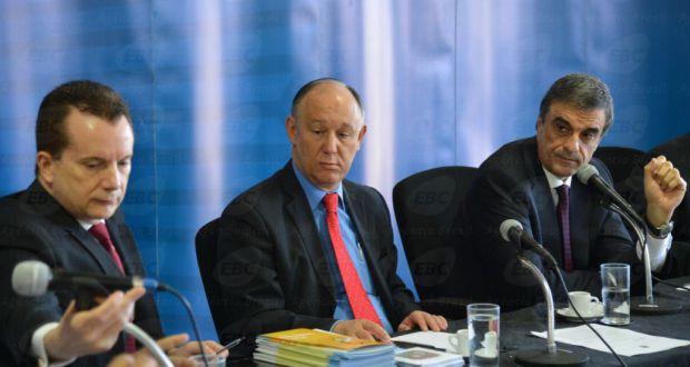 現時点で次期聖市市長への支持率1位のルッソマノ氏(左) (Agencia Brasil)