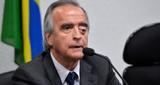 ペトロブラス元国際部長のセルヴェロー被告(Wilson Dias/Agência Brasil)