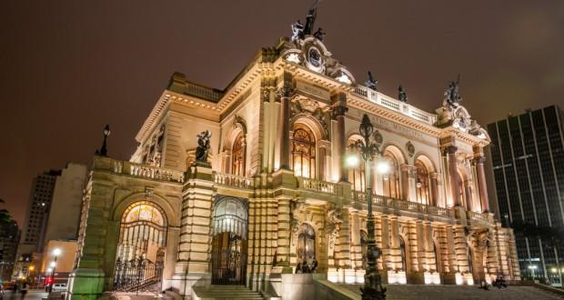 パリのオペラ座、NYのカーネギー・ホールとならび、グーグルによってデジタル化された、サンパウロ市立劇場(Embratur)