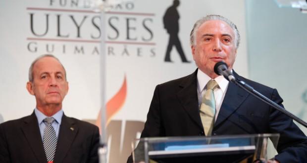 渦中のテメル副大統領(Wendel Lopes/PMDB)