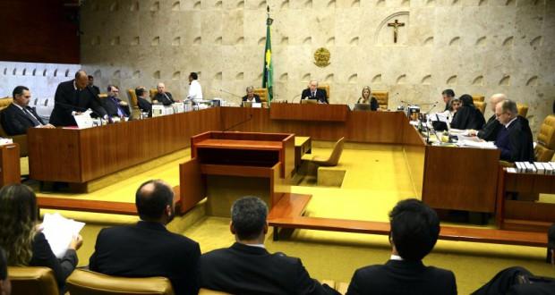 最高裁での投票風景(José Cruz/Agência Brasil)