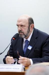 PBの議会調査委員会で証言するUTC社主のリカルド・ペソア被告(Lucio Bernardo Junior / Camara dos Deputados)