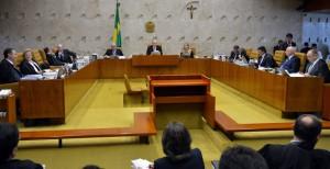 インピーチメントの手続きを決めた最高裁の様子(15年12月16日、Foto: Jose Cruz/Agencia Brasil)