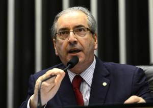 クーニャ下院議長(15年12月15日、Foto: Valter Campanato/Agência Brasil)