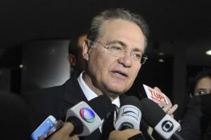 レナン上院議長(15年12月2日、Foto: Jane de Araújo/ Agencia Senado)