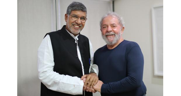 27日のルーラ氏(Ricardo Stuckert/Instituto Lula)