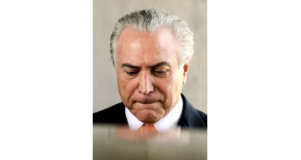 自身にも疑惑が浮上したテメル氏(Marcelo Camargo/Agência Brasil)