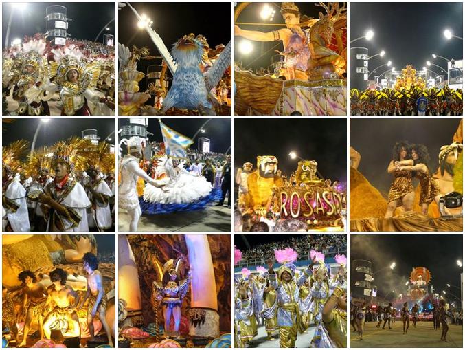 ブラジル カーニバル サンパウロ 初日