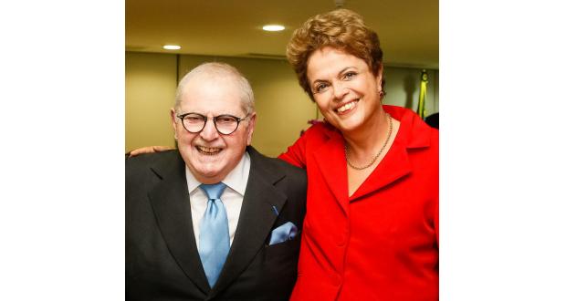 ジウマ大統領と会談を行った際のジョー・ソアレス(Roberto Stuckert Filho/PR)