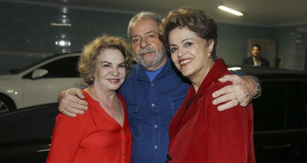渦中のルーラ夫婦(Ricardo Stuckert/Instituto Lula)