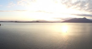 グァラキサーバの湾の景色