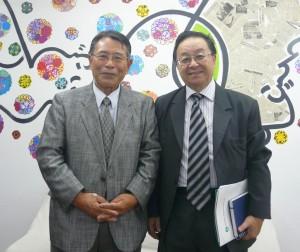 中沢会長と宮村副会長