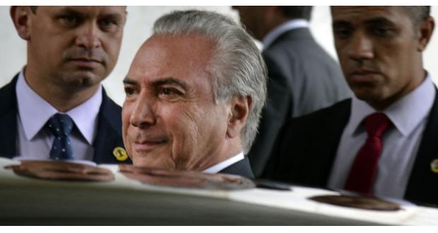 PMDBの鍵を握るテメル副大統領(Valter Campanato/Agência Brasil)