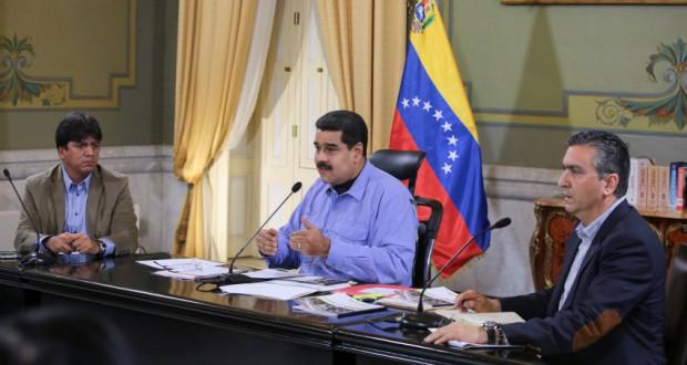 ベネズエラのマドゥーロ大統領(Francisco Batista/Presidencia de Venezuela)