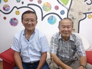 片山会長(左)と文野副会長