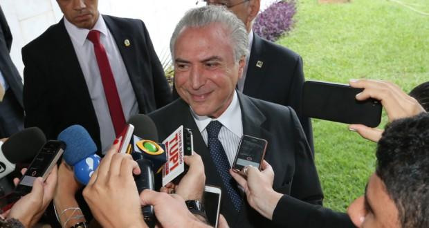 国民の反感を高めたテメル副大統領(Lula Marques/Agência PT)