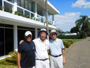 ゴルフの達人が勢ぞろい!(左から)古庄さん、長尾さん、沢田さん
