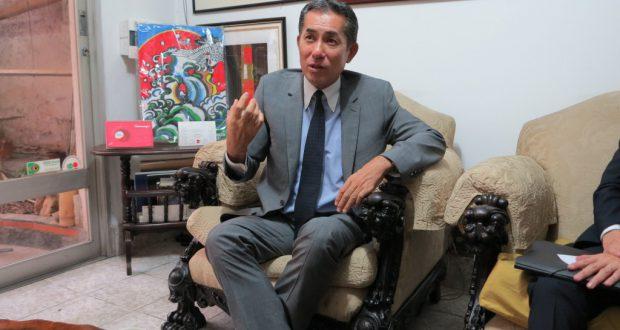 「日本政府へ強く支援の声を求めたい」と熱を込めた福嶌大使