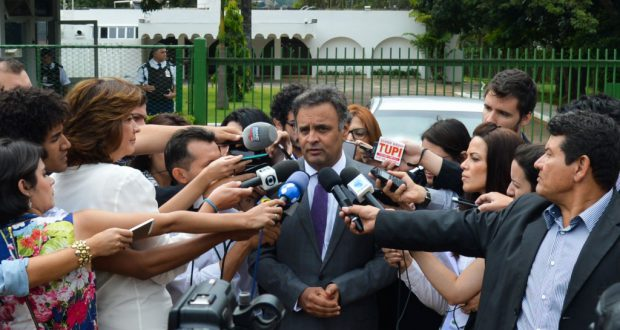 PSDB党首のアエシオ上議(Antonio Cruz/Agencia Brasil)