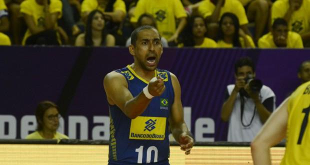 オリンピック4度目のセルジーニョ(15年の南米大会にて、Alexandre Arruda/CBV、 30/09/2015)