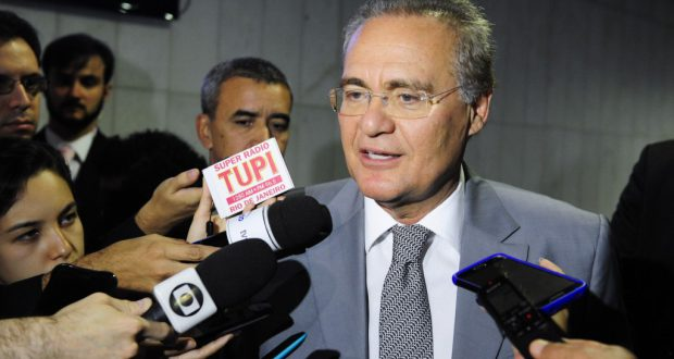 レナン・カリェイロス上院議長(Jonas Pereira/Agencia Senado)