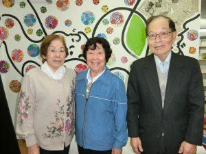 (左から)小野さん、岡田さん、植田さん