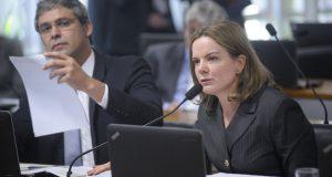 家宅捜査を受けたグレイシー上議(Pedro França/Agência Senado)