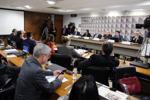 上院の罷免特別委員会の様子(Foto: Pedro França/Agência Senado)