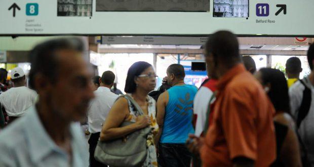 五輪チケットセールの行われるセントロ・ド・ブラジル駅(Tania Rego/Agencia Brasil)