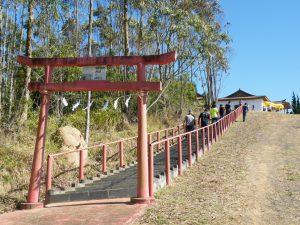 60周年を迎えた石鎚神社スザノ遥拝所