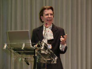 講演したヴェラ・エレナ・ソーステンセン教授