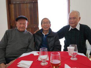 左から竹内さん、野口さん、佐々井さん