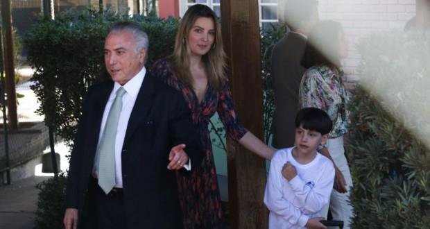 26日のテメル氏(José Cruz/Agência Brasil)