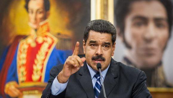 ベネズエラのニコラス・マドゥーロ大統領(EPA/Miguel Gutierrez/Agência Lusa)