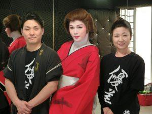 (左から)佐藤勇人さん、響彬斗さん、佐藤浩香さん