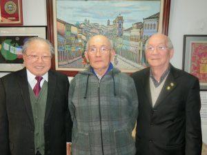 (左から)下本さん、上妻さん、京野さん