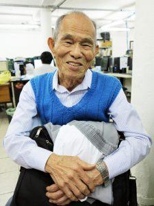 「『ご苦労様でした』とお祈りする気持ちで掃除をしていました」という村崎さん