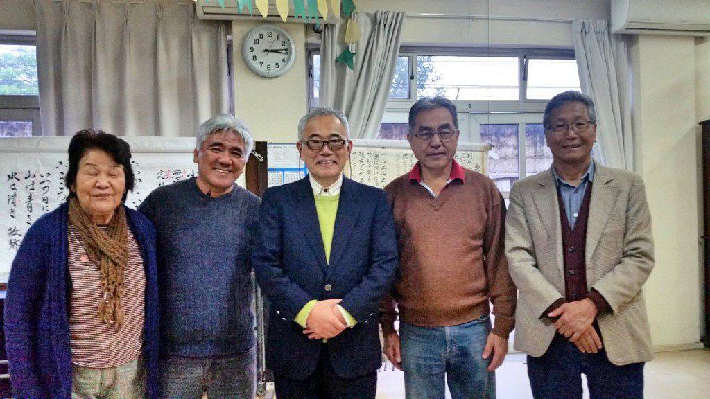 小川全夫先生とサントス厚生ホーム訪問