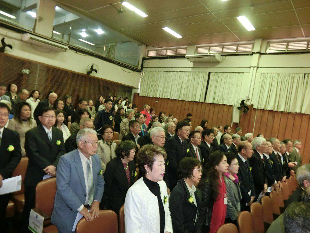 150人を超える参加者が祝福に訪れた