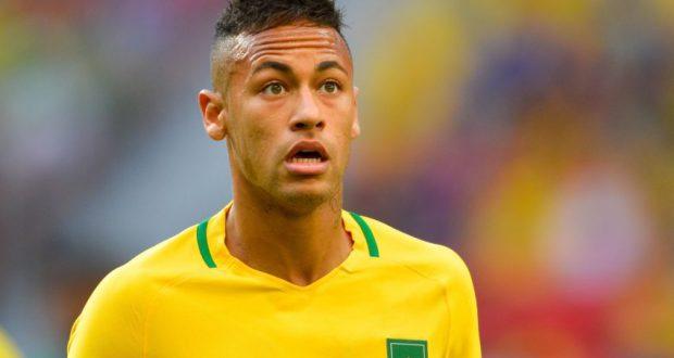 4日の試合のネイマール(Marcelo Camargo/Agência Brasil)