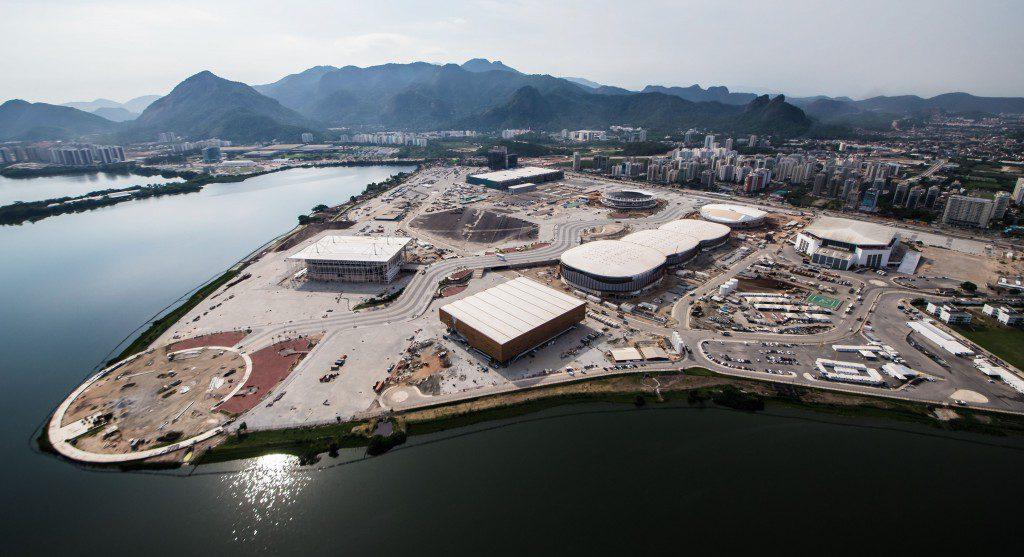 オリンピック・パークの全景。奥に風光明媚な山々が広がる(Foto: Renato Sette Câmara/Prefeitura do Rio)