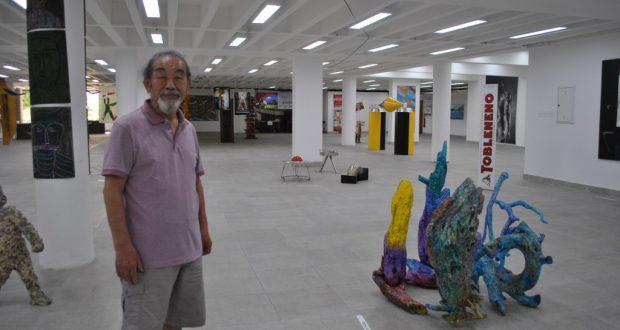 金子さんらプロの芸術家によって文化空間が創作された