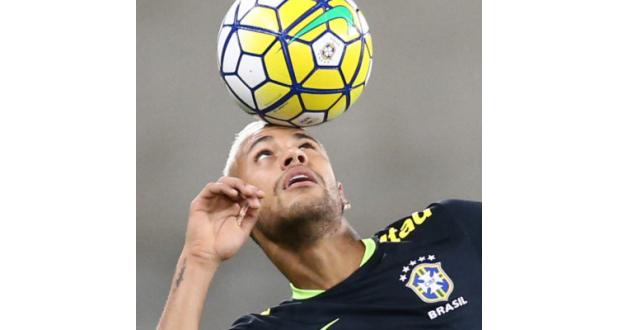 FCバルセロナとの契約を21年6月まで延長したネイマール(Lucas Figueiredo/CBF)