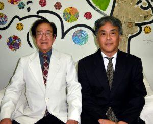 坂和さん(左)と久保さん
