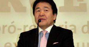 講演を行った竹中平蔵教授